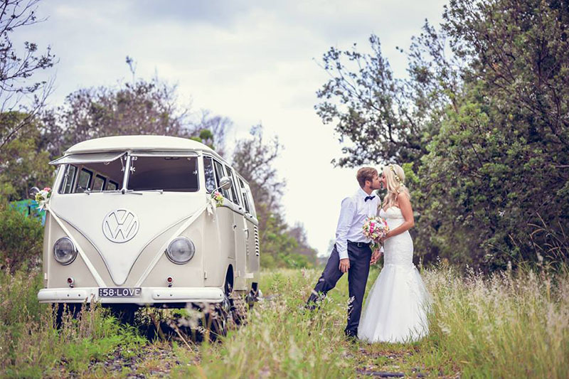Byron Bay Kombi Elopement