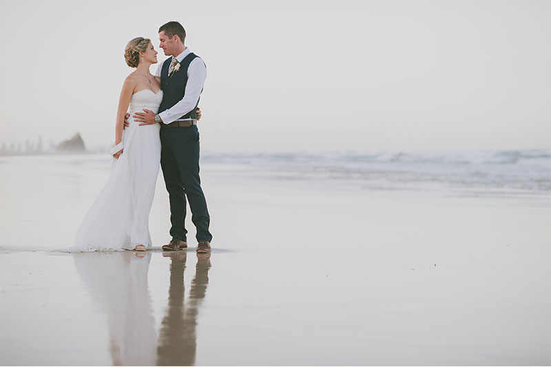 Gold Coast Beach Elopement