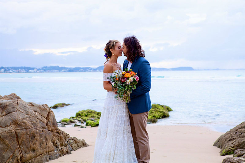 Gold Coast Boho Elopement