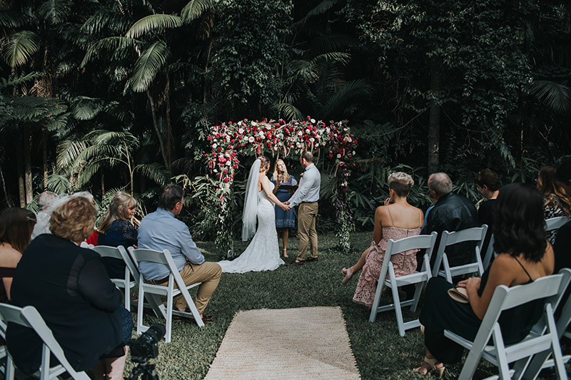 Mount Tamborine Wedding - Gold Coast Elopement - Hitched In Paradise