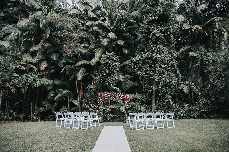 Mount Tamborine Elopement - Botanical Gardens - Gold Coast Wedding