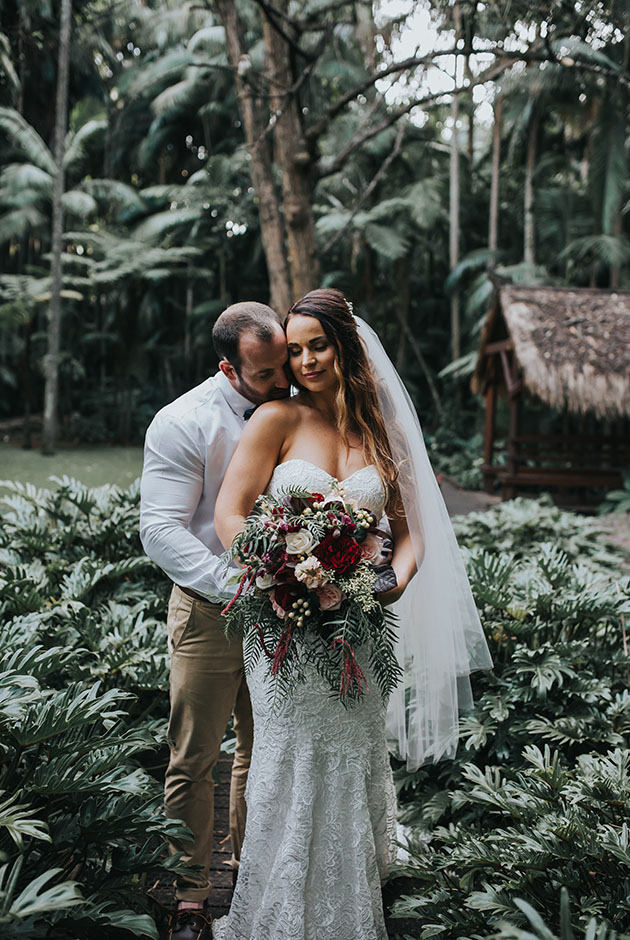 Mount Tamborine Wedding - Hitched In Paradise - Gold Coast Elopement