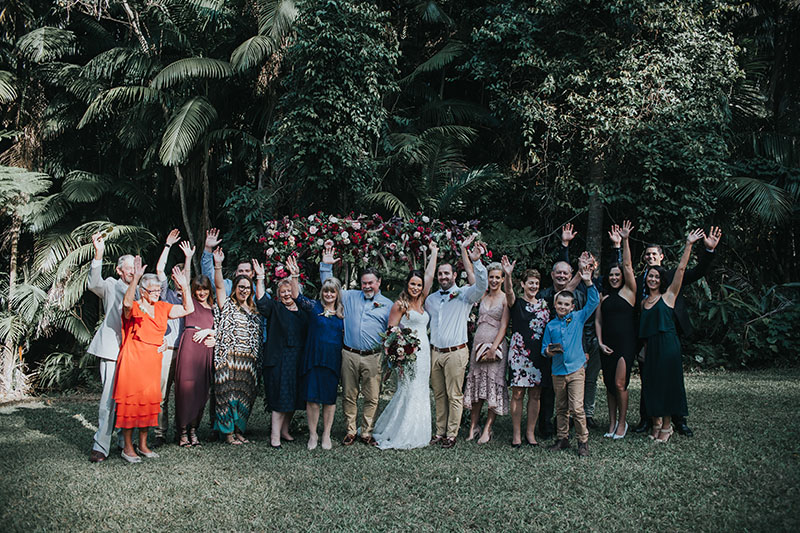 Fun Gold Coast Wedding - Mount Tamborine Elopement - Hitched In Paradise
