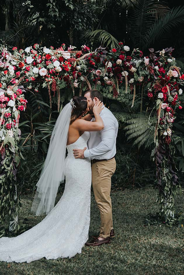 Mount Tamborine Elopement - Hitched In Paradise - Gold Coast Wedding