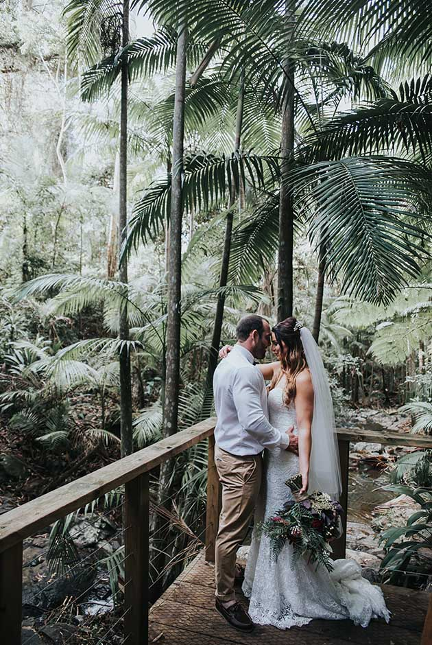 Queensland Elopement Blog - Hitched In Paradise - Mount Tamborine
