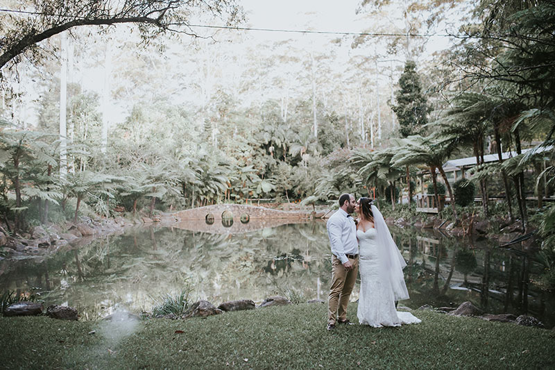 Mount Tamborine Elopement - Hitched In Paradise - Hayley & Glen