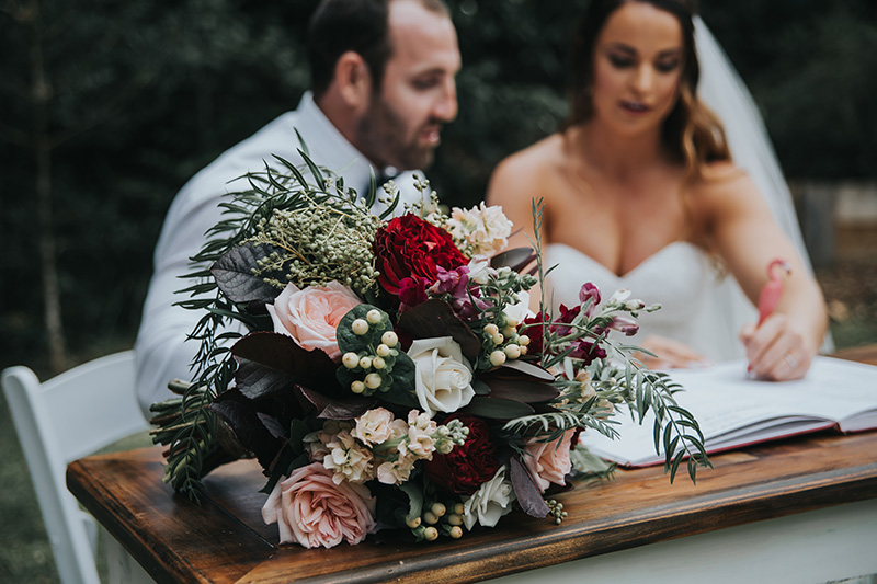 Mount Tamborine Elopement - Hitched In Paradise - Gold Coast Wedding Blog