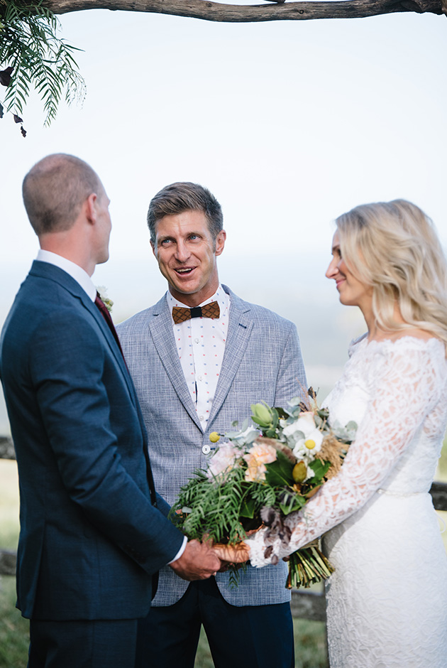 Byron View Farm Wedding - Hitched In Paradise Elopement - Benjamin Carlyle