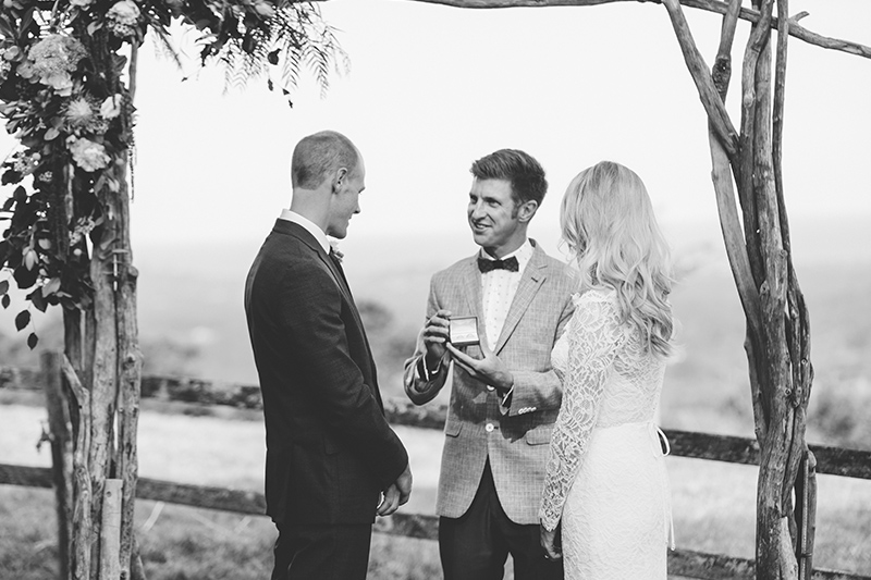 Byron View Farm Elopement - Hitched In Paradise - Benjamin Carlyle Celebrant