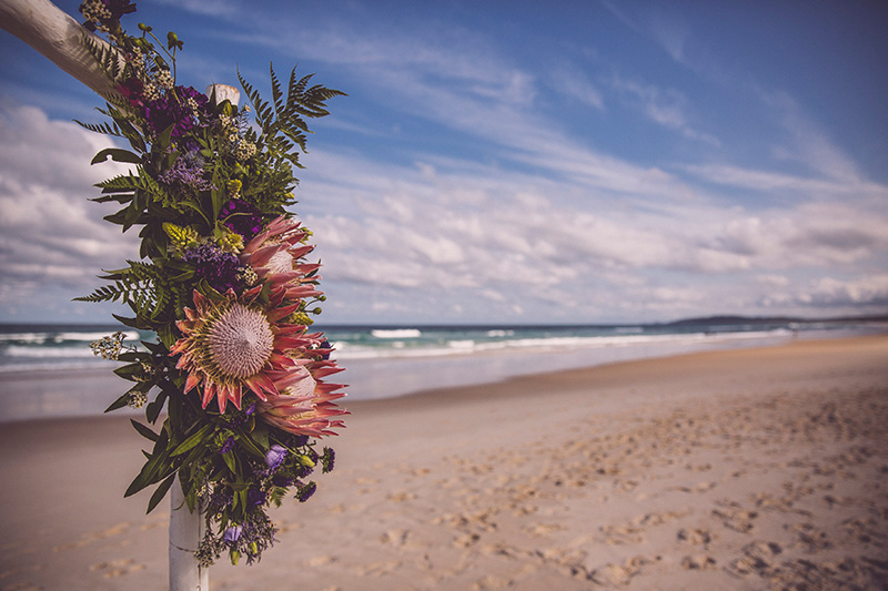 Tallow Beach Elopement - Byron Bay - Hitched In Paradise