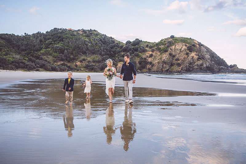 Hitched In Paradise - Byron Bay Elopement - Destination Wedding