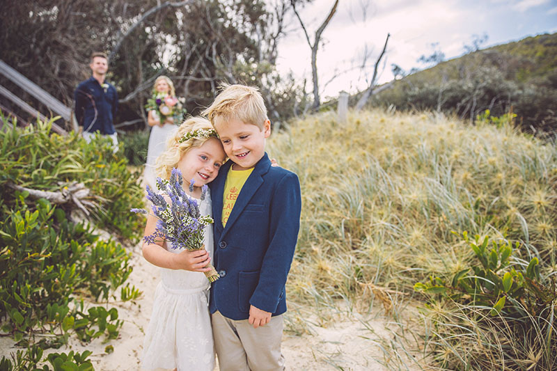Tallow Beach Elopement - Sam & Justin - Hitched In Paradise