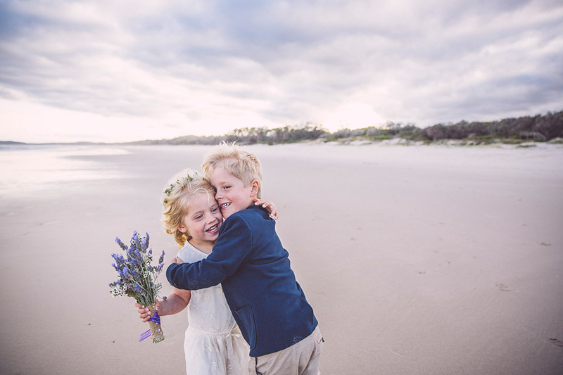 Hitched In Paradise - Fun Byron Bay Elopement - Tallow Beach