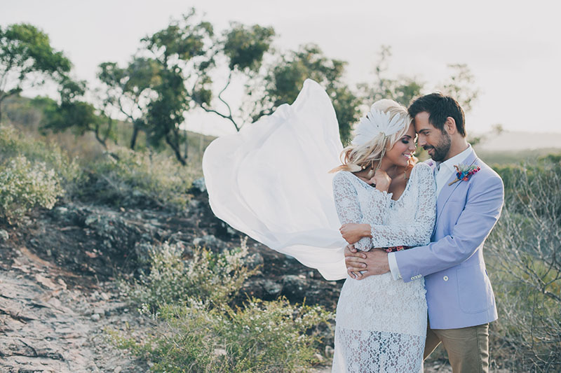 Byron Bay Elopement Couple