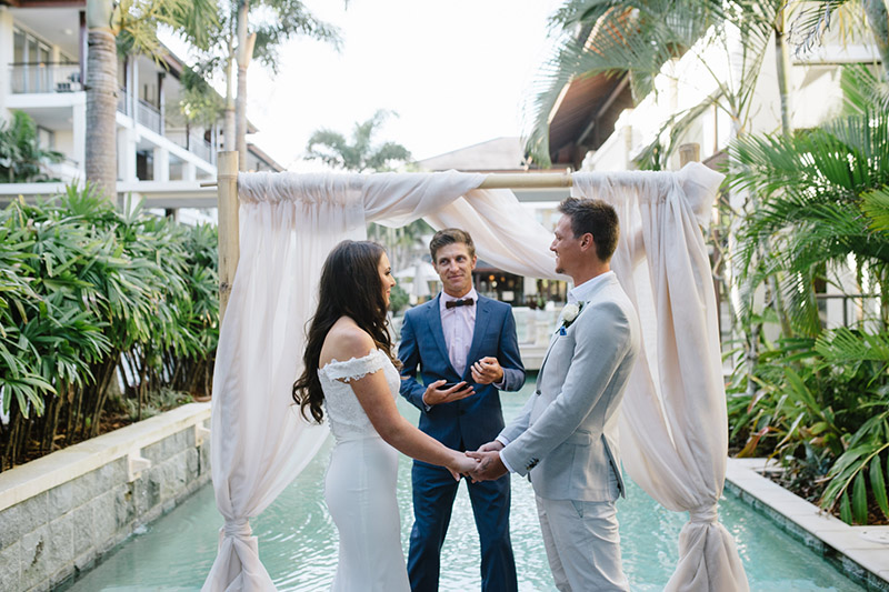 Santai Retreat Wedding - Gold Coast Elopement -Hitched In Paradise