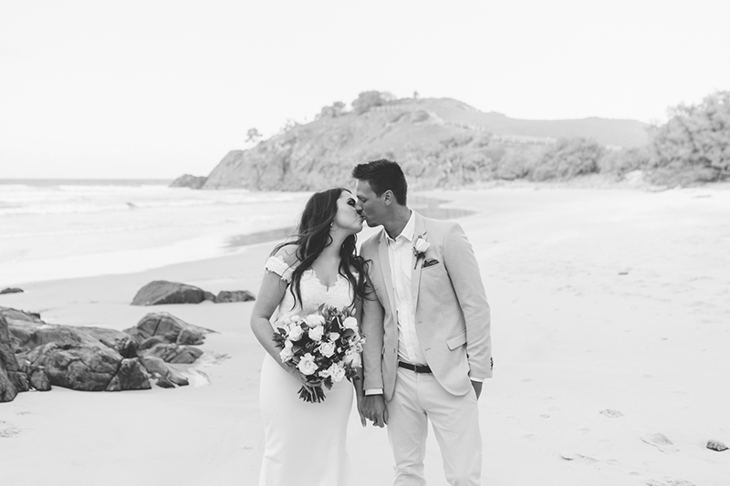 Cabarita Beach Wedding - Hitched In Paradise Elopement