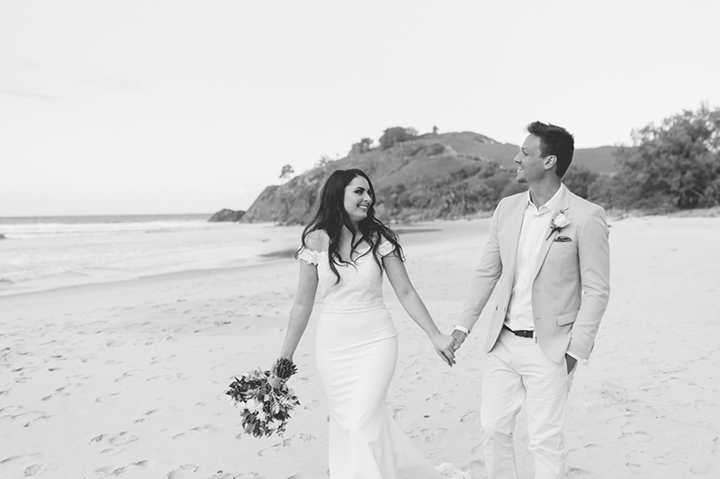 Cabarita Beach Elopement - Hitched In Paradise - Tweed Coast Wedding