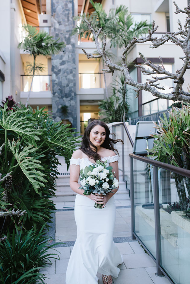 Beautiful Bride - Santai Retreat Wedding - Hitched In Paradise