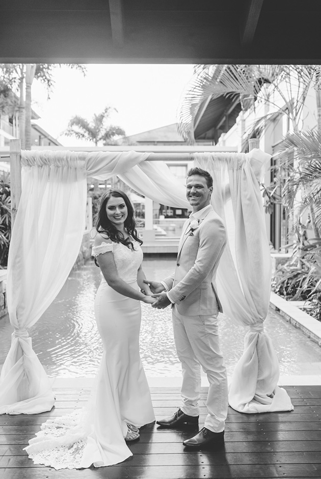 Hitched In Paradise - Santai Retreat Wedding - Gold Coast Elopement