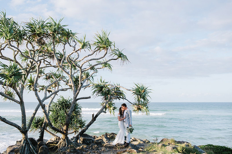 Tweed Coast Wedding - Hitched In Paradise Elopement Blog