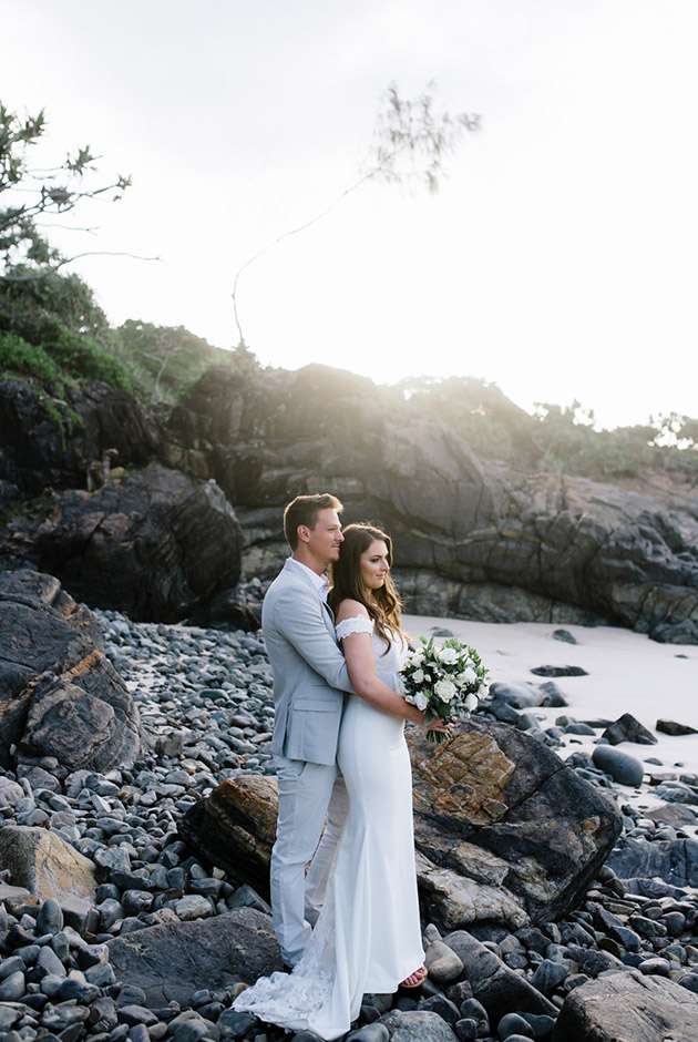Rachel & Morgan - Byron Bay Wedding - Hitched In Paradise Elopement