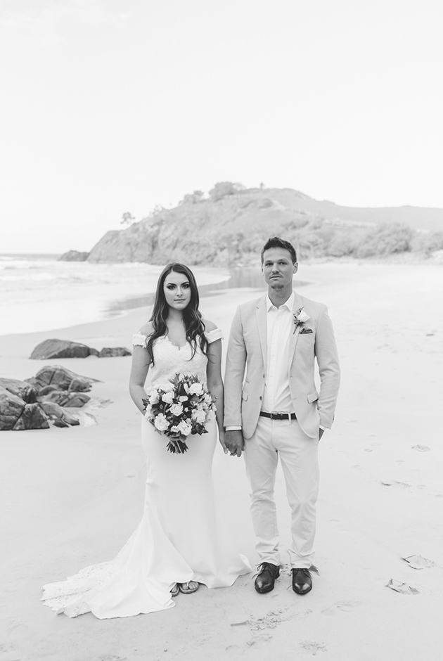 Cabarita Beach Elopement - Hitched In Paradise - Gold Coast Wedding Blog