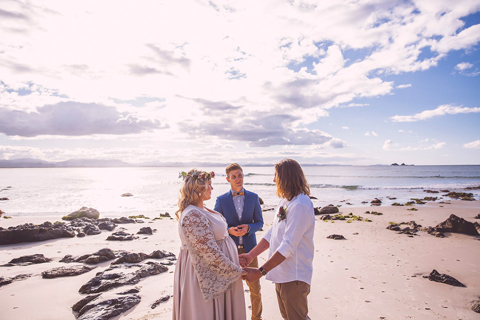 Wategos Beach Elopement - Kyle & Samara - Byron Bay