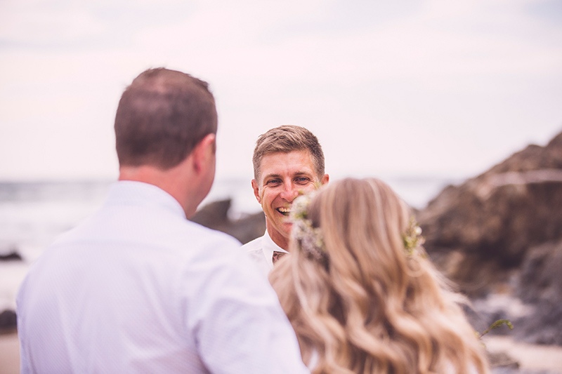 Wategos Beach Elopement - Benjamin Carlyle Celebrant - Hitched in Paradise