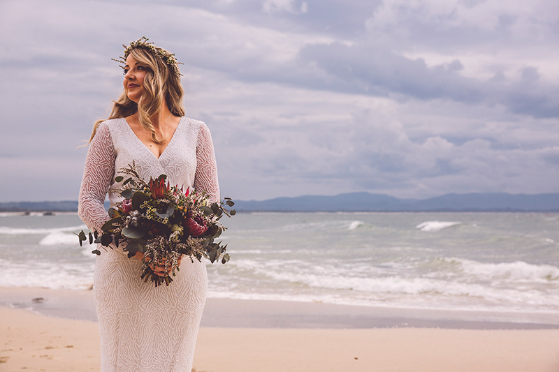 Boho Bride - Byron Bay Elopement - Hitched in Paradise