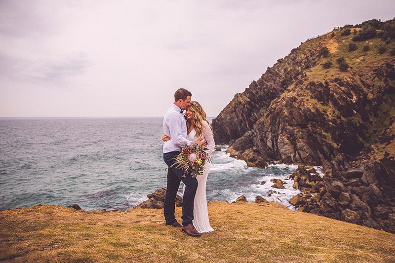 Australian Elopement - Hitched in Paradise - Cape Byron Bay Wedding