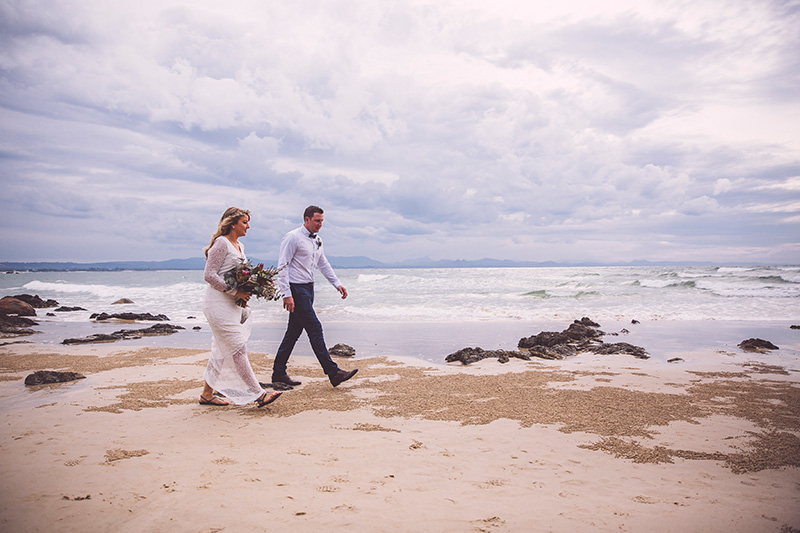 Wategos Beach Elopement - Byron Bay - Hitched in Paradise