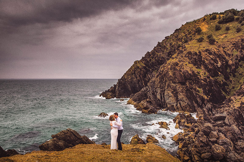 Australian Wedding - Hitched in Paradise - Cape Byron Bay Elopement