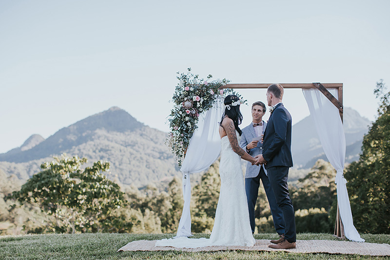 Tweed Hinterland Elopement - Mavis Kitchen - Hitched In Paradise