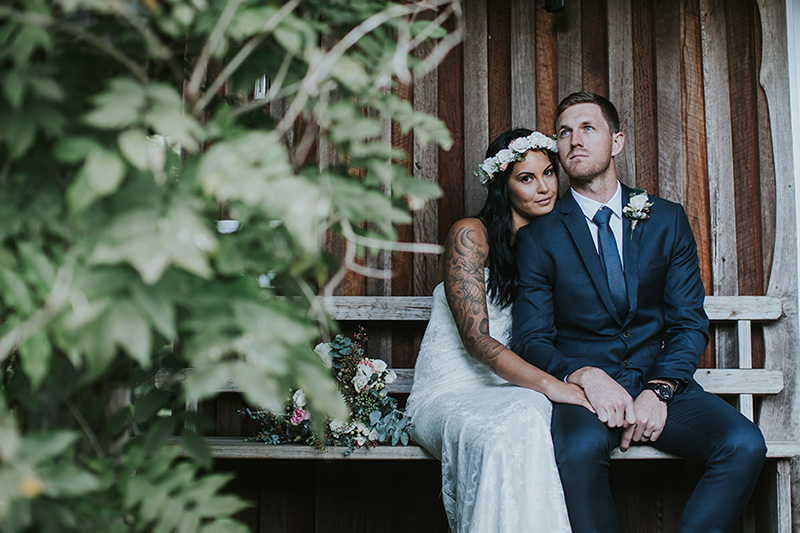 Hitched in Paradise Elopement - Mavis Kitchen - Bobby & Tahnee