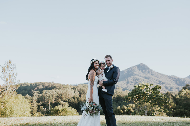 Hitched in Paradise - Bobby & Tahnee - Tweed Hinterland Elopement