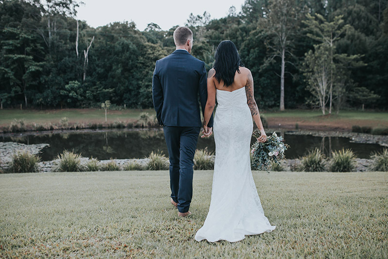 Hitched in Paradise Elopement - Bobby & Tahnee - Tweed Hinterland