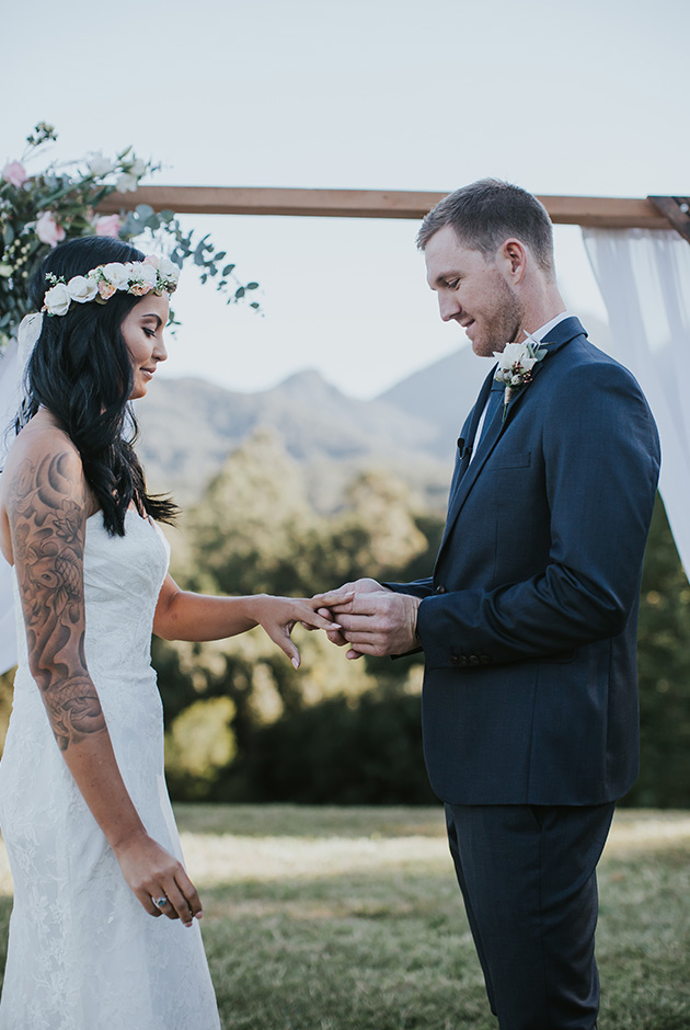 Bobby & Tahnee - Hitched in Paradise Elopement - Gold Coast Wedding