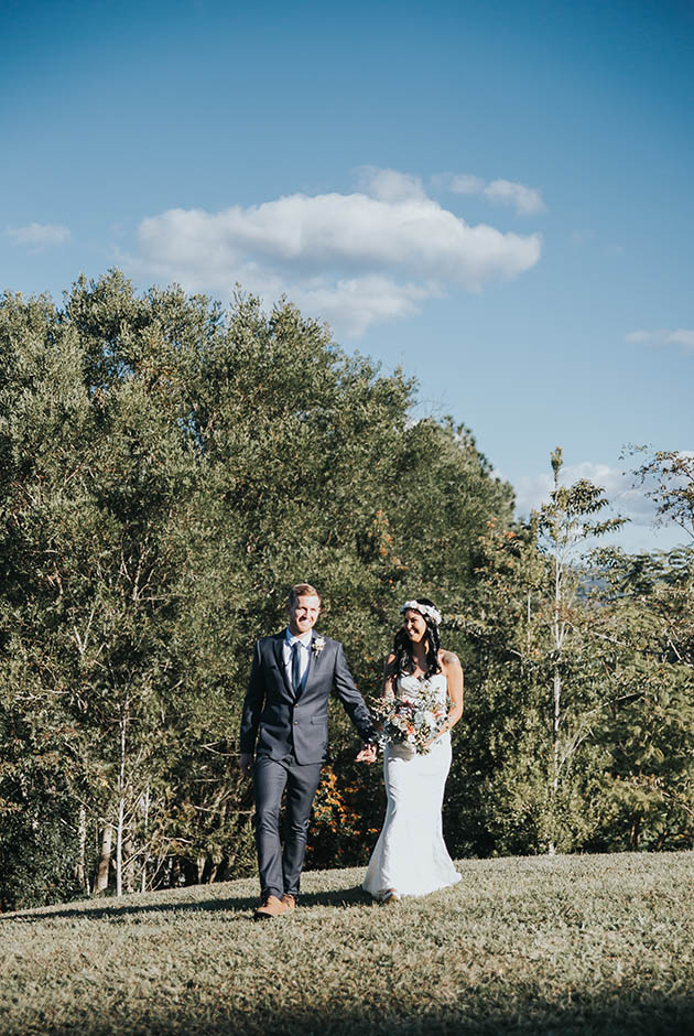 Bobby & Tahnee - Hitched in Paradise Elopement - Tweed Coast Wedding