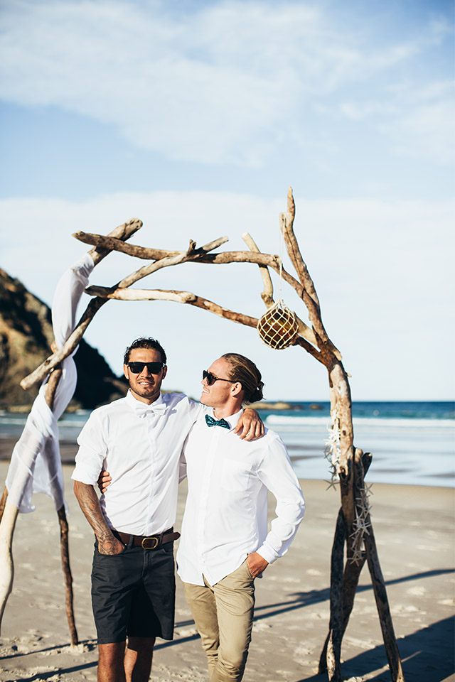 Byron Bay Elopement Blog - Hitched In Paradise - The Boys