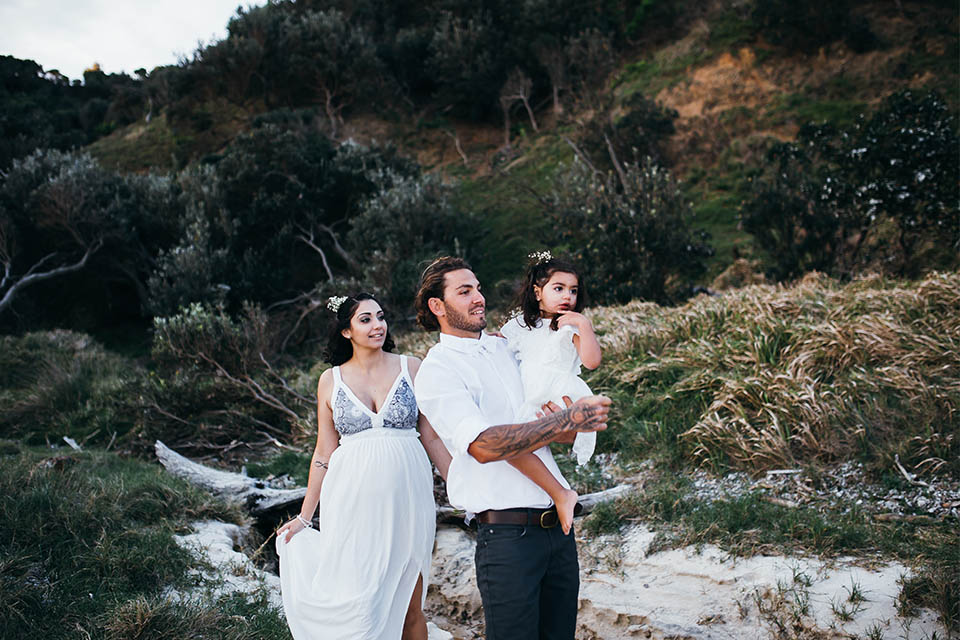 Tallows Beach Elopement - Byron Bay - Shane & Linda
