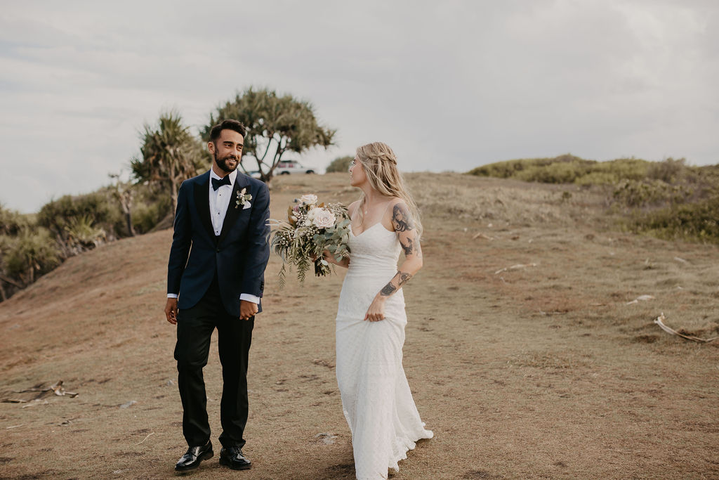Byron Bay Elopement - Hitched In Paradise - Priscilla & Valerio