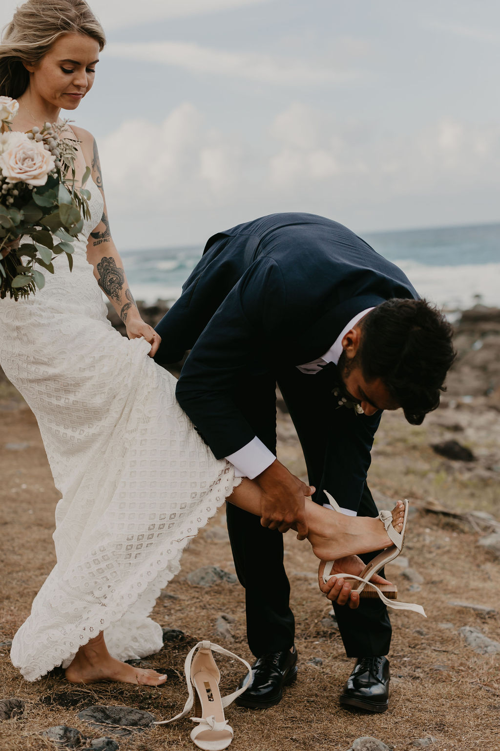 Byron Bay Wedding - Hitched In Paradise - Priscilla & Valerio