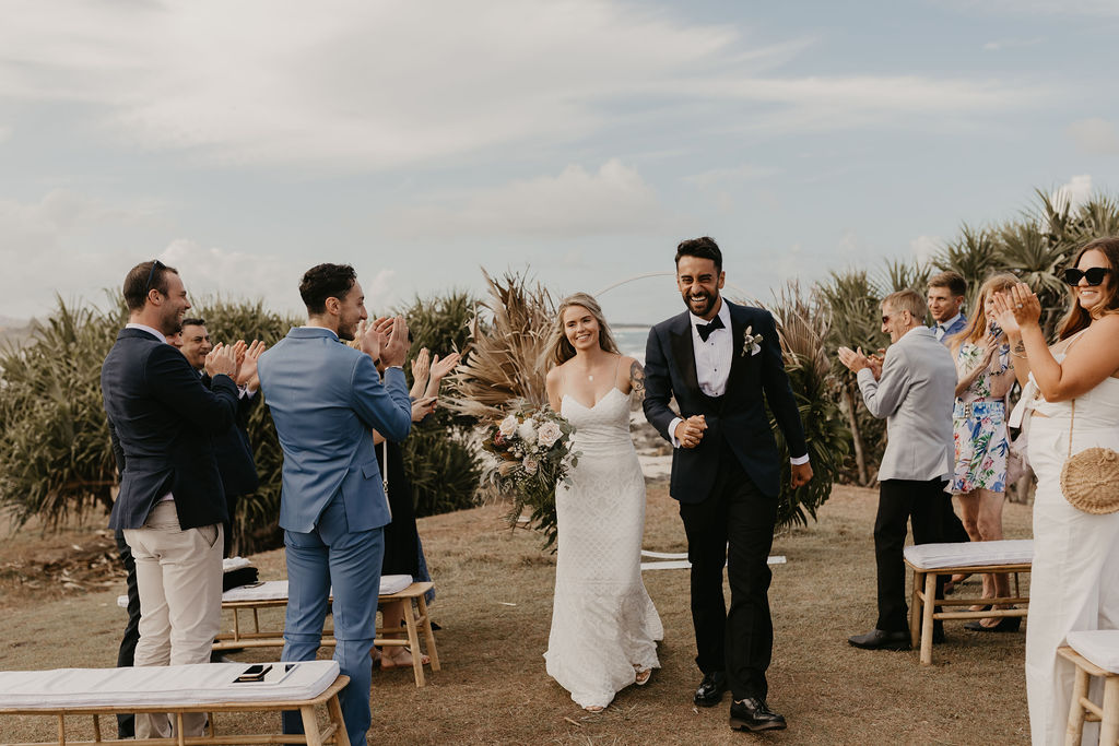 Hastings Point - Byron Bay Elopement - Just Married