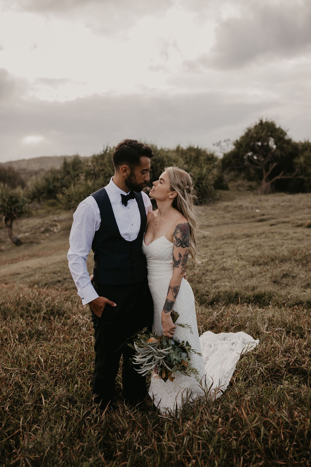 Priscilla & Valerio - Hitched In Paradise - Byron Elopement Blog