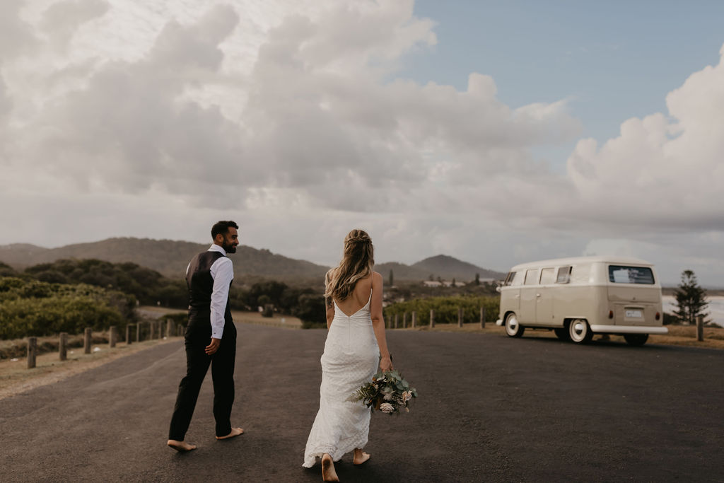 Priscilla & Valerio - Hastings Point - Byron Bay Elopement