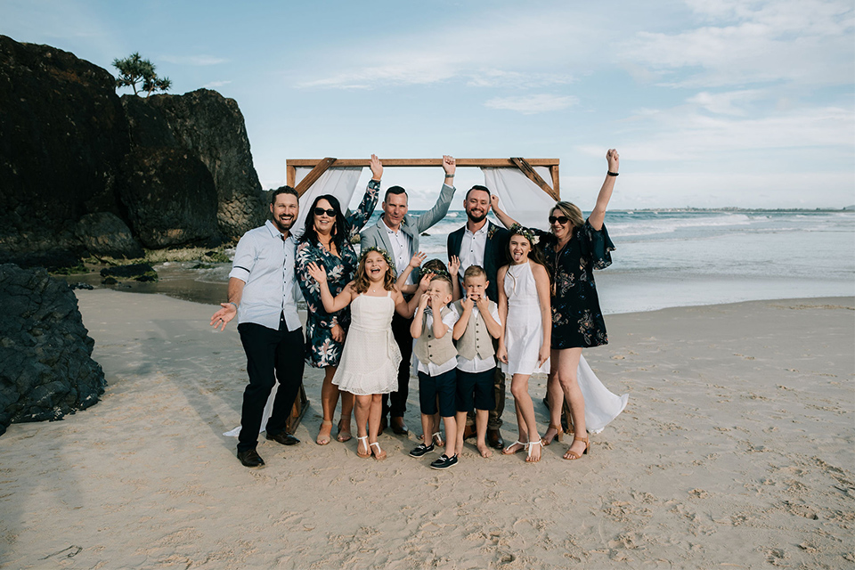 Byron Bay Gay Weddings - Hitched In Paradise