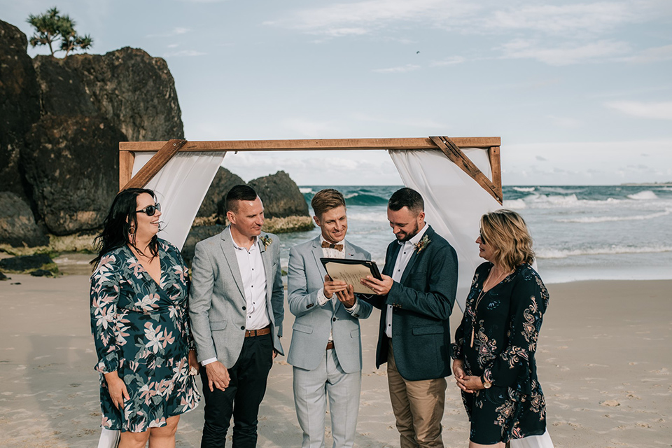 Byron Bay - Gay Elopement Weddings - Hitched In Paradise