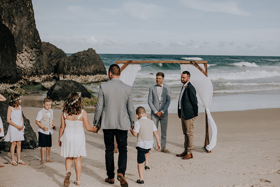 Fingal Beach Elopement - Tweed Coast Wedding