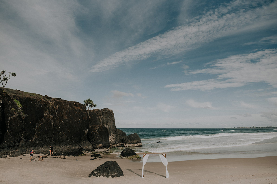 Dream Time Beach Elopement - Tweed Coast