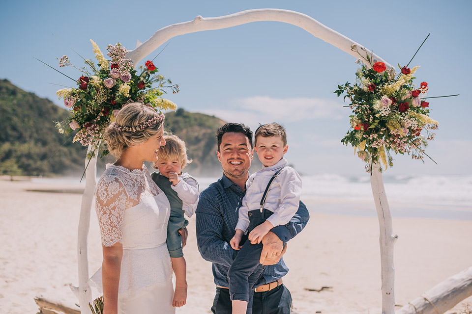 Byron Bay Elopement - Brooke & Phil - Tallow Beach